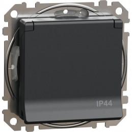 Zásuvka 1-nás. IP44 Sedna...
