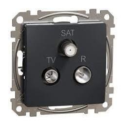 Zásuvka priebežná TV+R+SAT...