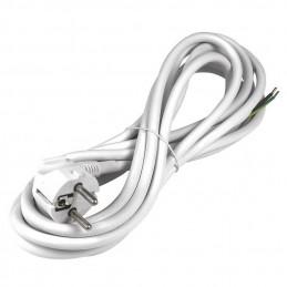 Flexo cord 5m 3x1.5 white,...