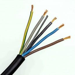 Kábel ohybný H05RR-F 5x2,5...