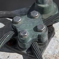 Lightning rod material